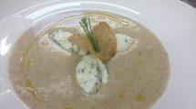 zuppa con 3 noci di ricotta