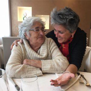 Nonna Rosaria e Anna Botter