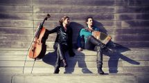 Alessandro Lanzoni (piano) e Alessandro Presti (tromba)