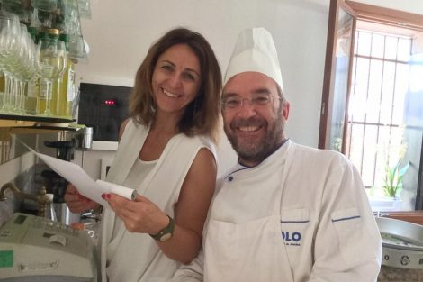 Sylvie Menasche e Bruno Santi