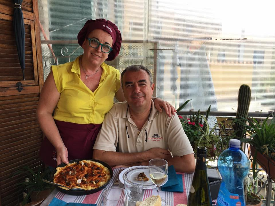 Norma e Carlo Pietrasanta