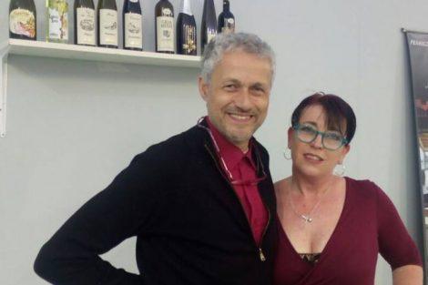 Paolo Ruffino Azienda vinicola Punta Crena con Norma Baisi