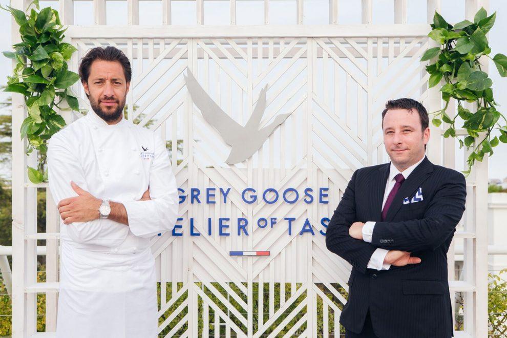 Chef Luigi Taglienti e il bartender Luca Angeli